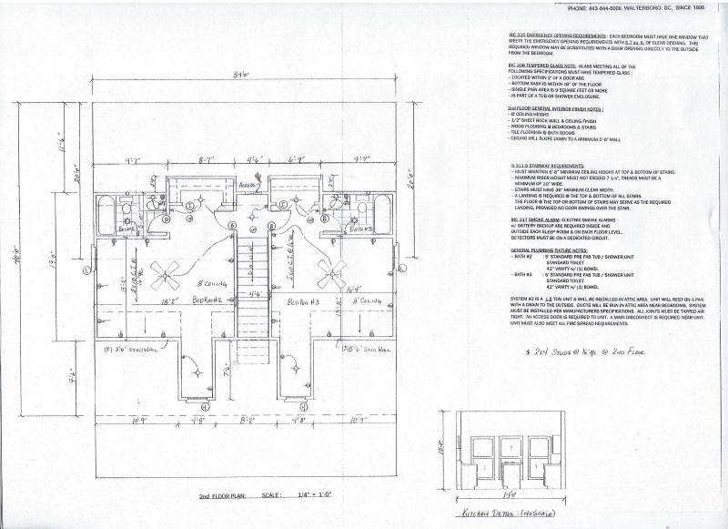 2nd floor plan for Cane Branch
